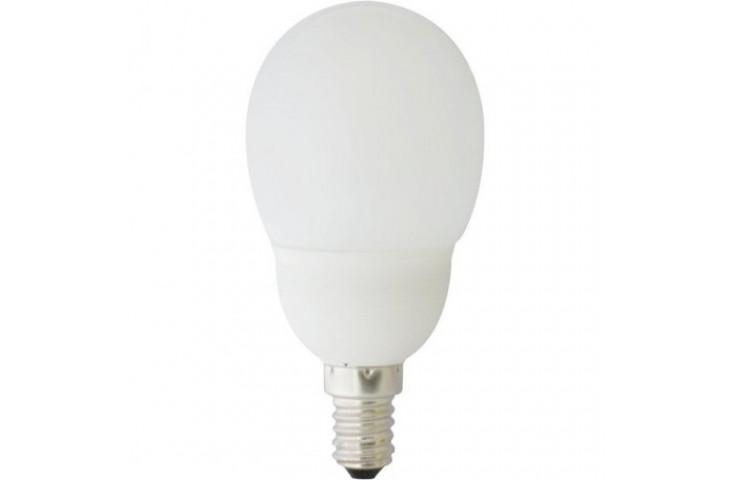 Lampadine basso consumo winner - miniglobo - e27 - 13 w - 665 lumen - 4200 k - 492152074