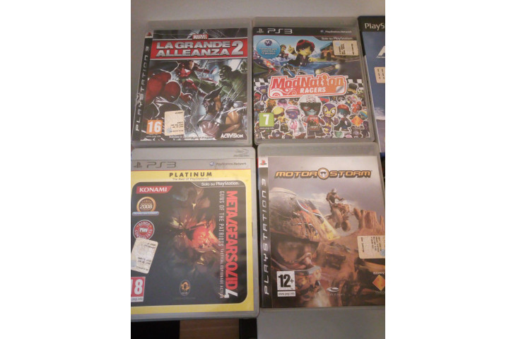 Giochi per playstation 2 e 3