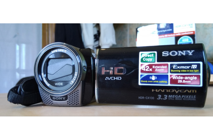 Videocamera sony full hd