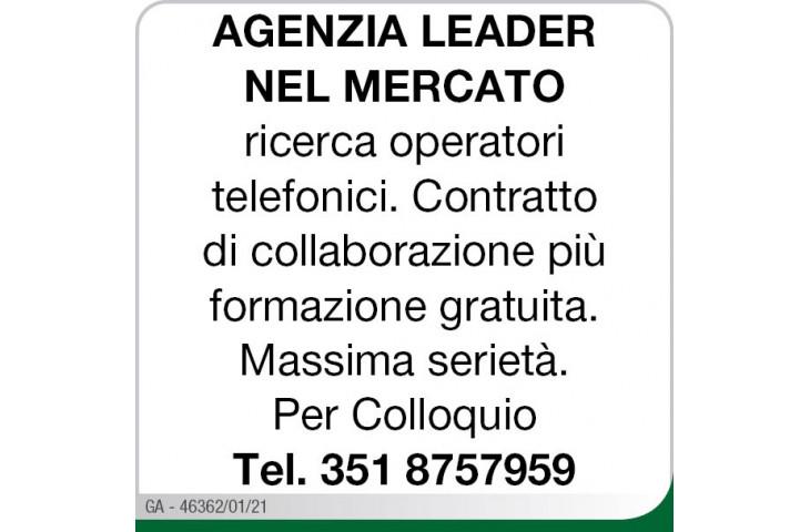 Agenzia leader nel mercato