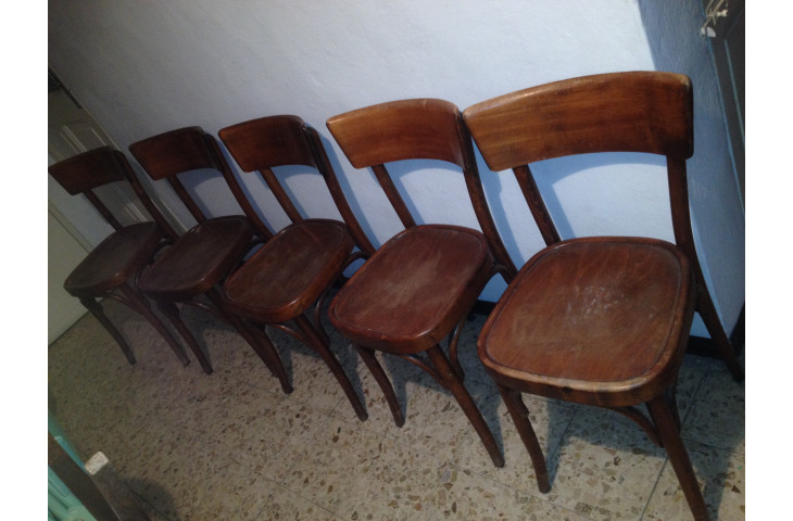 Sedie 5 in legno