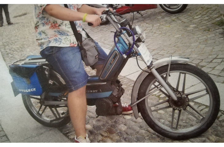 Ciclomotore peugeot 103sp