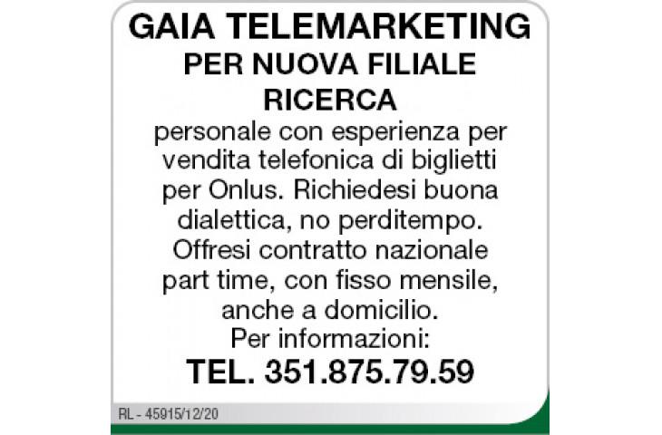 Gaia telemarketing