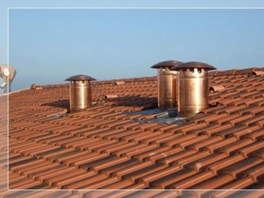 Posa in opera di tetti