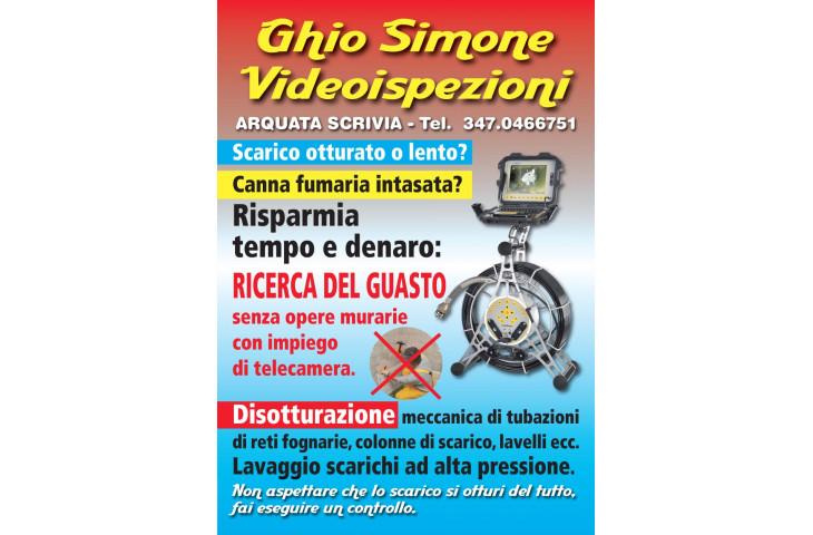 Videoispezioni con video camera per disotturazioni