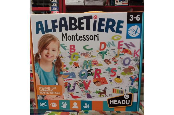 Alfabetiere montessori 3-6 anni