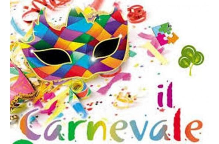 Martedi 25 febbraio e domenica 1 marzo festeggiamo il carnevale,